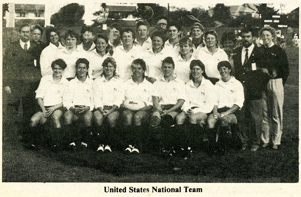 USA Rugby creates the Women's National Team